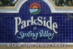 sign for Parkside